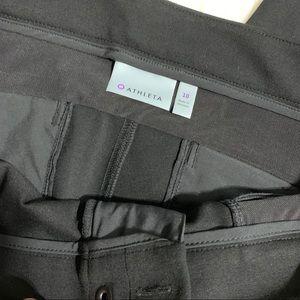 Athleta Pants - NWOT Athletes Ponte Moto Pant 2.0 Black 868912